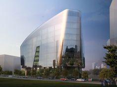 Lucasfilm's Sandcrawler Building | Architect: Aedas