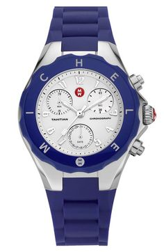 MICHELE 'Tahitian Jelly Bean' 40mm Watch..just bought, love it!!