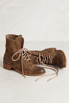Dahlia Punched Boots #anthropologie I NEED THESE