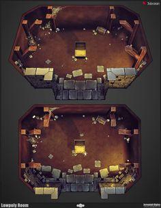 Modular Dungeon Set - Polycount Forum