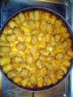 "Sloppy Joe Tater Tot Casserole! 4.60 stars, 43 reviews. ""Its easy n kids will enjoy it to"" @allthecooks #recipe"