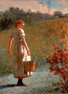 Returning from the Spring by 1874 Winslow Homer