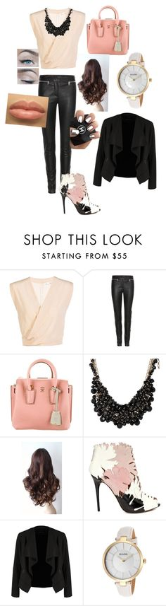 """""""If only I were rich"""" by segura-priscilla ❤ liked on Polyvore featuring Alexander McQueen, MCM, sweet deluxe, OPUS Fashion, Bulova, women's clothing, women's fashion, women, female and woman"""