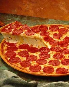 and god create the peperoni pizza.