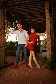 Christina Tully and Anthony Tineo of Dolce Vita Dance Company
