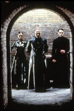 And a special category, The Owning The Coat Award, for making the long coat a household name, goes to.... The Matrix series for popularizing the phrase 'The Matrix coat.'