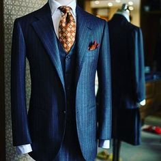 Suits - My Dapper Self — What's your favorite piece of this ensemble Suit, Mens Fashion Suits, Mens Suits, Fashion Outfits, Fashion Menswear, Men's Fashion, Grey Suits, Tweed Suits, Mens Attire, Fashion Clothes