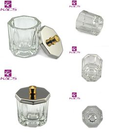[Visit to Buy] KADS 1pc Crystal Glass Dappen Dish / Lid Bowl Cup Crystal Glass Dish Nail Art Tools Acrylic Nail Art Equipment Mini Bowl Cups #Advertisement