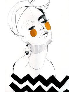 'Serpentine'. Giclée Art Print by Ekaterina Koroleva