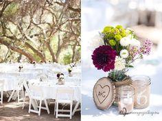 Az esküvői asztal - Dekoráció természetes stílusban » Esküvői menü és ültetés > Menyegzolap.hu