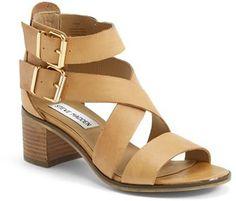 Steve Madden 'Rosana' Double Ankle Strap Leather Sandal (Women)