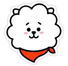 • Also buy this artwork on stickers, apparel, phone cases y more. Pop Stickers, Tumblr Stickers, Printable Stickers, Bts Emoji, Bts Birthdays, Kawaii Doodles, Bts Merch, Bts Drawings, Bts Chibi
