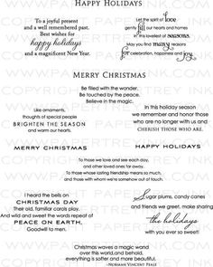 Card sentiments for the upcoming holiday season other pinterest christmas greetings sample what to write in a christmas card christmas card messages christmas cards online christmas card sayings christmas card wording reheart