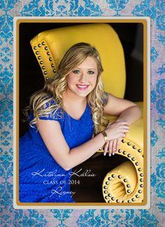 graduation invitation idea, senior photography, senior portraits, Suzanne Deaton Photography