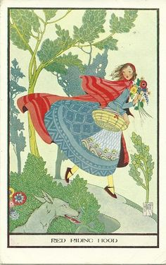 Joyce Mercer Art Deco. Fairy Tale Red Riding Hood (C.W. Faulkner)   eBay