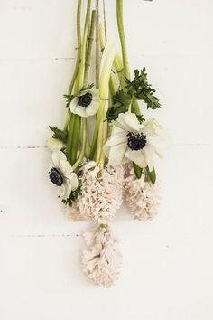 Spring Anemones & Hyacinth / Wedding Style Inspiration / LANE (instagram: the_lane)