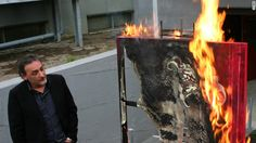 The Casoria Contemporary Art Museum in Naples is burning its artwork to protest cuts in funding from the government.