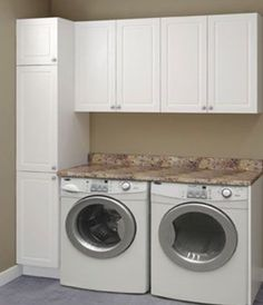 """Check out our internet site for more info on """"laundry room storage diy small"""". It is actually an outstanding location to read more. Laundry Room Remodel, Laundry Room Cabinets, Laundry Closet, Laundry Room Organization, Laundry Storage, Small Laundry, Laundry Room Design, Laundry In Bathroom, Storage Room"""