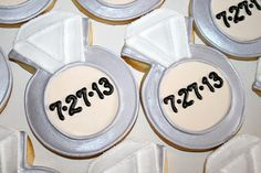 Engagement Ring Cookies by Cookie Couture, LLC, via Flickr