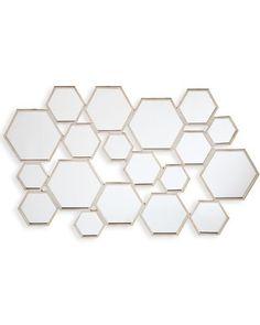 Honeycomb Wall Mirror