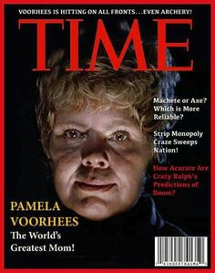 Time Magazine cover found hanging in a cabin at Camp Crystal Lake… Horror Icons, Sci Fi Horror, Horror Films, Trauma, Friday The 13th Funny, Horror Quotes, Monster Board, The Devil's Advocate, Funny Horror