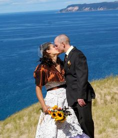 Michigan Wedding at Sleeping Bear Dunes -- Offbeat Bride
