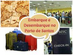 Porto de Santos - Embarque e Desembarque