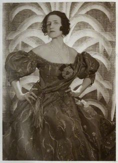Lady Ottoline Morrell (1873-1938), aristocrat, society hostess and arts patron was remarkable for her generosity, her outlandish appearance and the legendary parties she threw at her house in Bloomsbury's Gower Street.