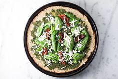 Cauliflower Pizza (gluten free & vegan)