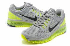 size 40 3f9de 2b34f Fashion Nike Air Max 2013 Wolf Grey Black Volt 554886 007 Nike Max, Nike Air