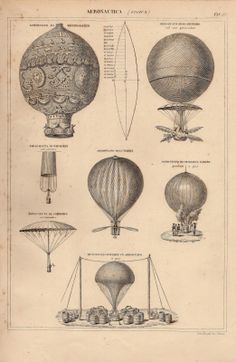 Sisters' Warehouse: Mongolfiere Vintage - Vintage Hot Air Balloons