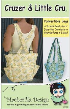 mackerilla cruzer backpack bag pdf pattern