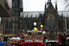 weiberfastnacht köln karneval kathedrale