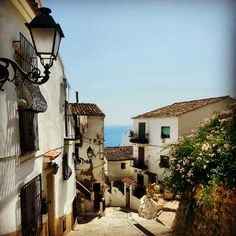 Old town of # Altea by @ia_pia