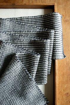 slip stitch reversible stripes - free Purl Bee tutorial