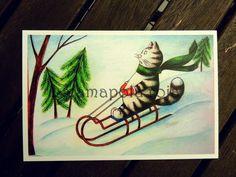Postcard Set - pinned by pin4etsy.com