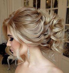 2018 de Mariage Updo Coiffures pour les Mariées | Couleurs de Cheveux pour les Cheveux Longs