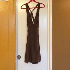 BCBG party dress Jersey knit dress.  Comfortable great for a night out. BCBG Dresses Midi