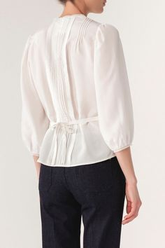 Silk Isaie Blouse Poudre, Vanessa Bruno