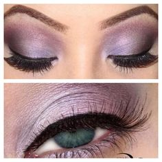 Perfect to enhance green and hazel eyes, you can get this look using Amethyst, Whisper Pink, Mulberry and Garnet. #puckerupprincess www.puckerupprincess.com