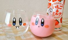 Kirby Glasses Are The Cutest Way To Drink Pepto