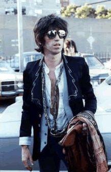 Keith Richards. Stylish !