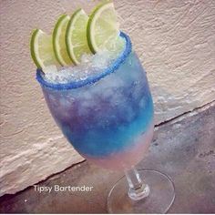 Wolfberry Charge Cocktail - For more delicious recipes and drinks, visit us here: www.tipsybartender.com