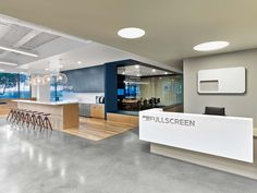 Rapt Studio has designed a second phase of new office space for youth media company Fullscreen located in Los Angeles, California. We previously looked at Phase 1.