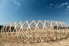 Budapest's Hello Wood Camp Showcases the Beauty of Building With Wood