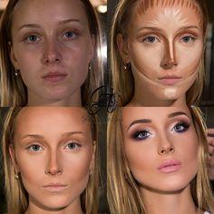 contour face makeup tutorials before and after contouring tutorials