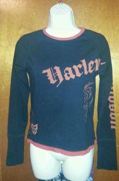 Harley Davidson Long Sleeved T-Shirt Size Small