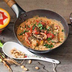 Rindfleischcurry mit Paprika