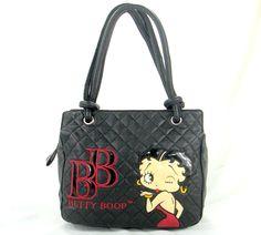 betty boop purses | NEW Fashion Women Betty Boop Handbag Purse 1103BK | eBay