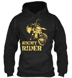 Night Rider Black Sweatshirt Front LIMITED EDITION - Buy beautiful T Shirt and Hoodie to be this season to be jolly. Why not get this novelty T Shirt and Hoodie as a gift for your friends and family. Each item is printed on super soft premium material! 100% Designed, Shipped, and Printed in the U.S.A. Not available in stores! Get Home Delivery! SHARE it with your friends, order together and save on shipping. For Order Visit: https://teespring.com/stores/mycard